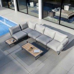 Kettler Ocean Dininglounge Aluminium Polster Garten Freizeit Lounge Lounge Mobel Outdoor Lounge Mobel