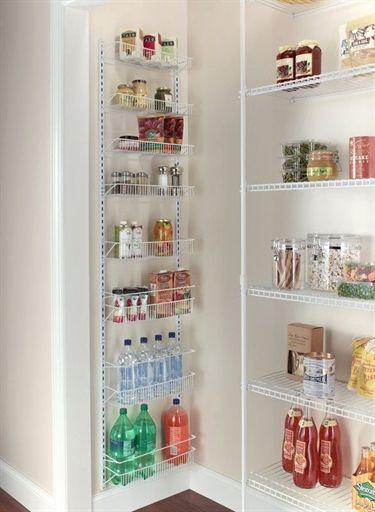 8 Tier Cabinet Door Organizer Kitchen Pantry Storage Pantry Shelving Door Storage