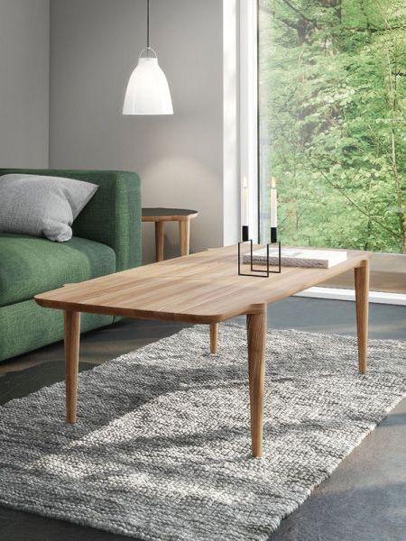 Table Basse Scandinave En Bois Massif Orbit Design Nissen Gehl Fabriquee Au Danemark Dans Les Atelier Table Basse Table Basse Bois Table Basse Rectangulaire