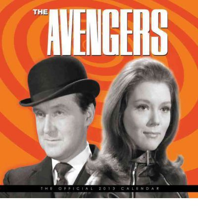 The Avengers Steed Door Poster