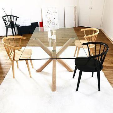 Chaise Trise Naturel Kave Home Chaises Bois Table Salle A Manger Idees De Decor