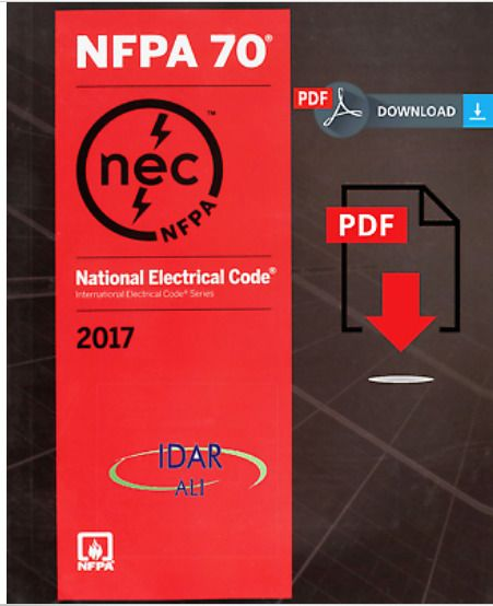 Nfpa 70 National Electrical Code Nec 2017 Edition Eboo Pdf E Mailed Electrical Code Guys Be Like Coding