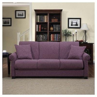 Robert Convert A Couch Amethyst Purple Handy Living Purple