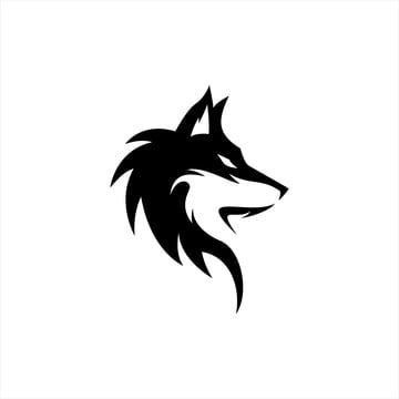 Wolf Silhouette E Sports Logo Design Logo Design Inspiration Creative Photo Logo Design Pet Logo Design
