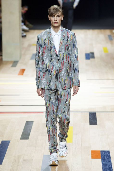 Dior Homme Menswear Spring 2015