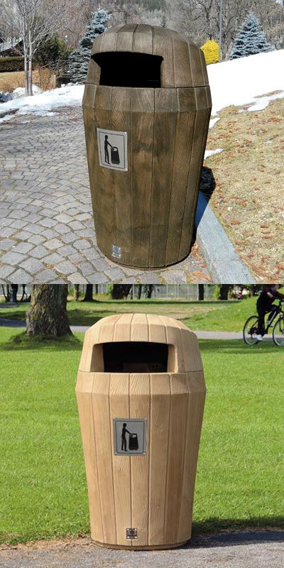 Peachy Sherwood Hood Top 20 Gallon Trash Can Trash Cans Pet Interior Design Ideas Gentotthenellocom