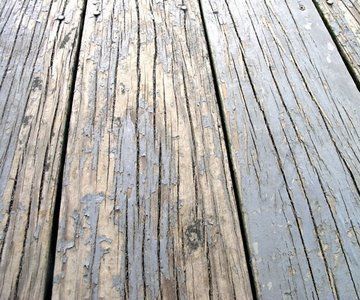 How To Fix A Deck That Is Peeling Treated Wood Deck Painted Wood Deck Wood Deck