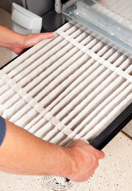 How To Clean An Ac Filter Ac Filters Clean Air Conditioner Clean Air Filter