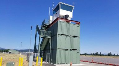 Truckee Container Tower Airport Blue Sky Conexwest Green Storage Container Cottages By The Sea Boxes For Sale Conex Container