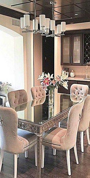 Elegant Pink Dining Room For Woman Style 39 Elegant Dining Room
