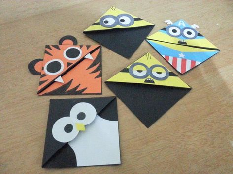 Corner Bookmarks Crafts Pinterest Corner Bookmarks