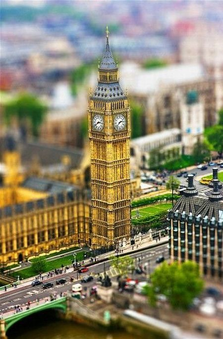 Awesome Tilt-Shift Miniature Faking Photography