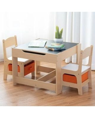 Childrens Table And Chairs Storiestrending Com In 2020 Storage Chair Wooden Table And Chairs Kids Table Chair Set