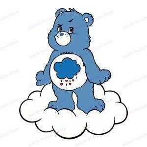Care Bear Blue Gif Carebear Blue Discover Share Gifs Bear Wallpaper Bear Gif Care Bear