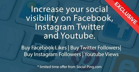Social-Ping provide you with high quality Instagram Followers within hours and help to build your presence in social media
