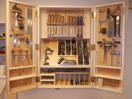 Delightful Woodworking Project Paper Plan To Build Hand Tool Cabinet | Tool Cabinets,  Woodworking And Woodworking Tools