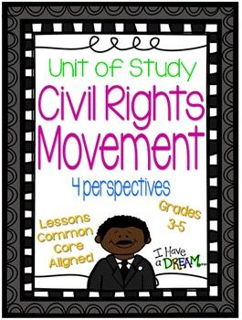 Everything You Need To Teach About The Civil Rights Movement This Bundle Includes 19 Lessons Student Journal Civil Rights Movement Social Studies Education