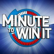 Minute to Win It Party - played at work, it was great!