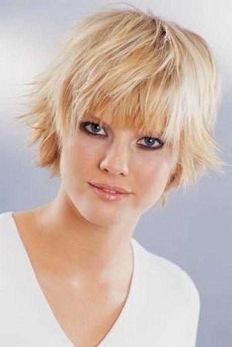 Stufenschnitt Kurzhaar Kurzhaarfrisuren Frisuren Feines Haar Haarschnitt