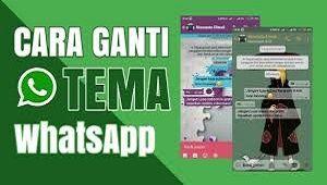 Cara Mengganti Tema Whatsapp Tanpa Aplikasi Dan Dengan Aplikasi Mudah Pesan Instan Aplikasi Membaca