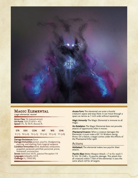 Magic immunity, Phantasmal Killer and only CR 8? Must be