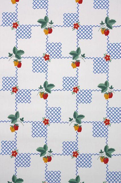 1930s Kitchen Vintage Wallpaper Kitchen Wallpaper Patterns