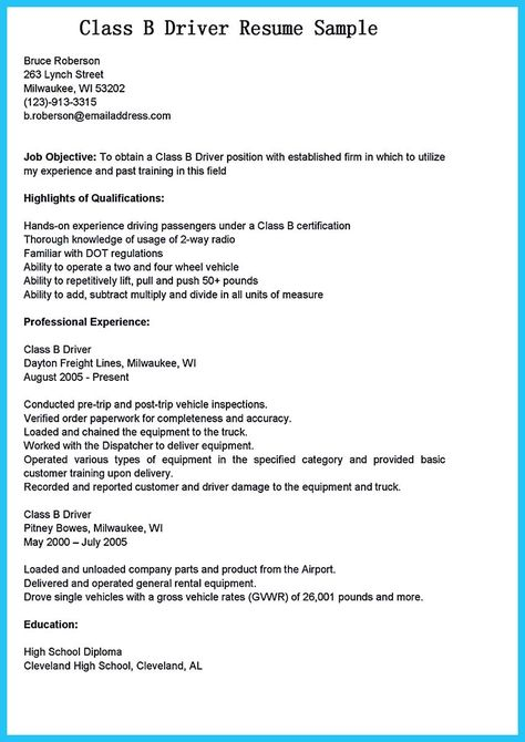 Lift Driver Resume 50 Free Microsoft Word Resume Templates For Download  Microsoft .