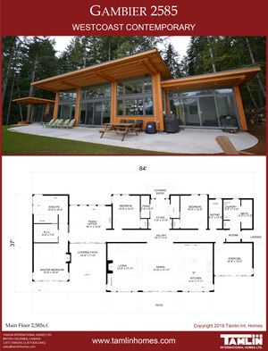 Contemporary Designs Tamlin Timber Frame Homes House Roof Design Cottage Design Plans Modern Style House Plans