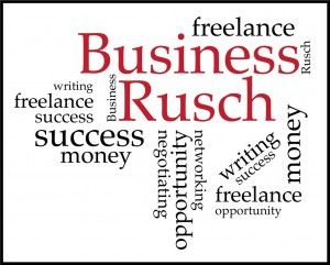 The Business Rusch: Branding (Discoverability Part 6)