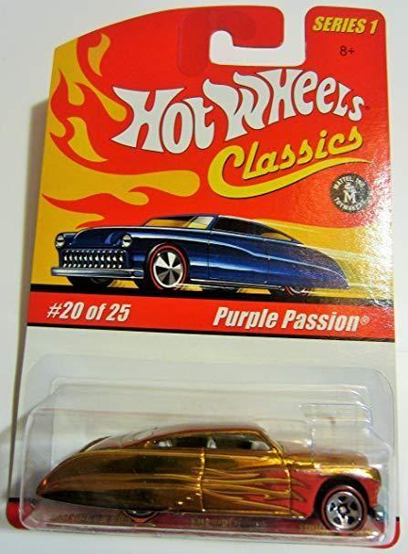 Hot Wheels Classics Series 1 Purple Passion Gold