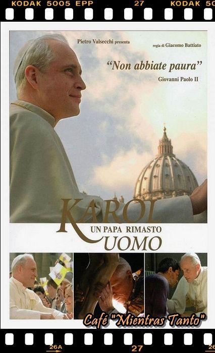 """Cine Sala """"Charles Chaplin"""" - Karol, el hombre que se convirtió en Papa (2005) - Ingresa a la sala pulsando el Link: http://cine-sala-a01-jcp.blogspot.com/2016/03/karol-el-hombre-que-se-convirtio-en.html"""
