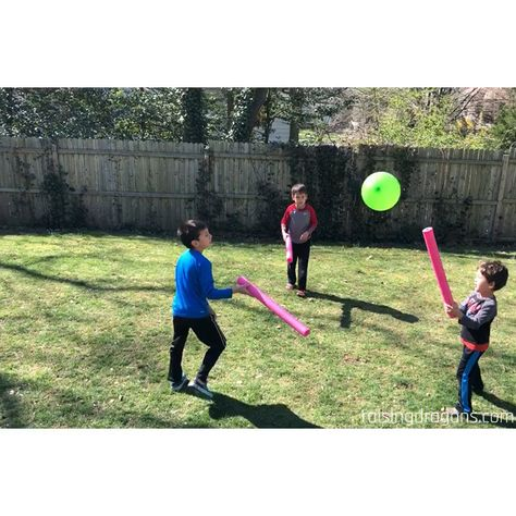 Such a fun outdoor game and great for building gross motor skills! #outdoorgames #kindergarten #preschool