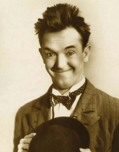 "Stanley ""Stan"" Laurel (born Arthur Stanley Jefferson, 16 June 1890"