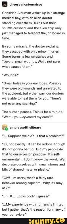 Humans are weird