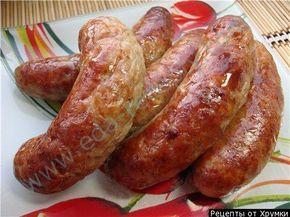 рецепты домашней колбасы без кишок