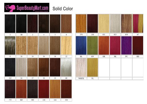 Yaki hair color chart black hairstyles hair coloring and wig