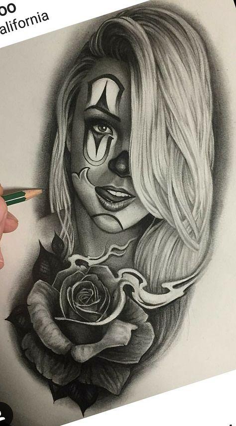 Catrinas Ideias De Tatuagens Tatuagem E Desenhos Para Tatuagem