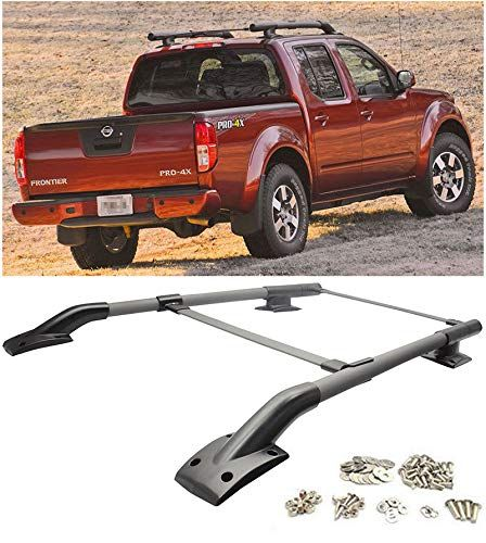 Amazon Com Extreme Online Store For 2005 2017 Nissan Frontier Eos Factory Oem Style Roof Rack Rail Cross Bar Luggage Nissan Frontier Luggage Carrier Nissan