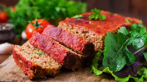 Home Made Meatloaf with Vegetables Recipe MAN'S BLACK BOOK