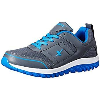 Sparx Men's Dark Grey and Blue Running Shoes 8 UKIndia(42