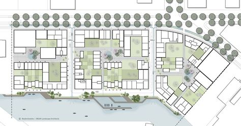 Plankaart Cityplot Buiksloterham. Beeld: Studioninedots, DELVA Landscape Architects