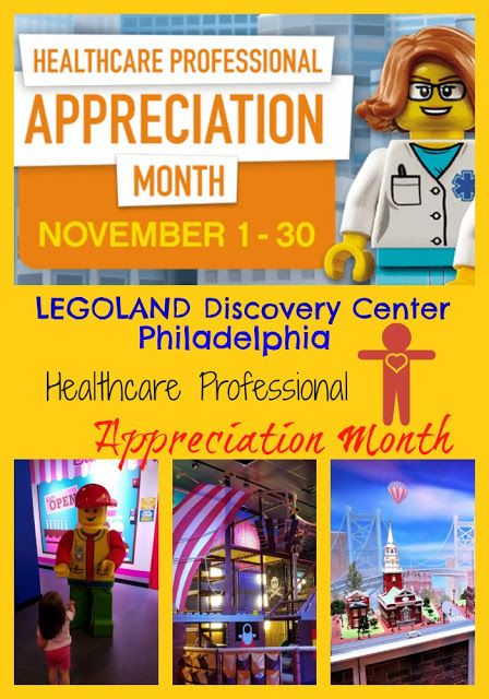 Healthcare Professional Appreciation Month At Legoland Discovery