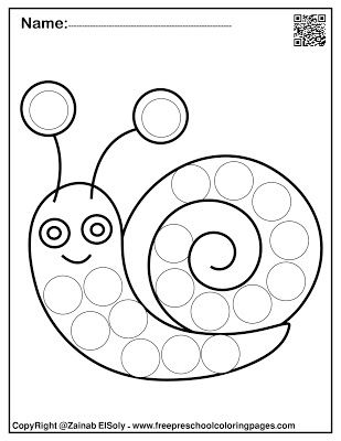 Pin On Spring Do A Dot Marker Free Coloring Pages
