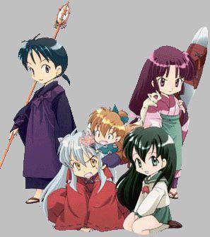 Chibi Inuyasha Characters