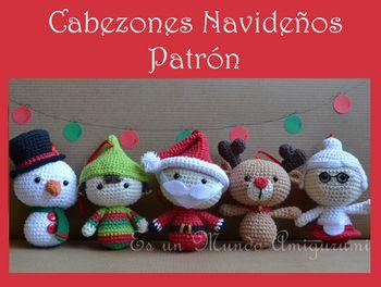 Amigurumis Navidad 2015 : Patrón amigurumis navideños patrones amigurumi christmas