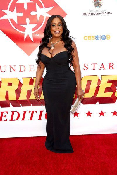 Niecy Nash arrives at the Special Needs Network Superhero Gala at the California African American Museum.