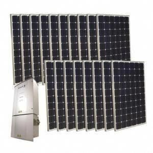 Grape Solar 4 500 Watt Monocrystalline Pv Grid Tied Solar Power Kit Discontinued Gs 4500 Kit In 2020 Solar Energy Panels Solar Best Solar Panels