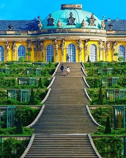 Schloss Sanssouci Sanssouci Palace Potsdam Germany In 2020 Best Summer Vacations The Good Place Summer Vacation Style