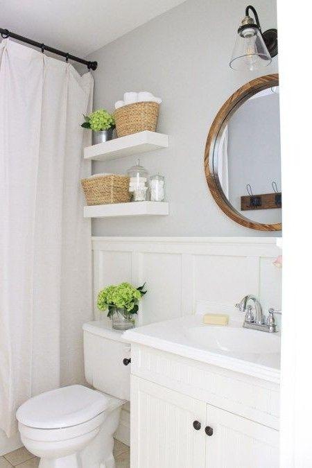 30 Most Popular Small Bathroom Design Ideas For 2019 Bathroomdecor Bathroomdesign Bathroomreno Master Bathroom Makeover Diy Bathroom Remodel Small Bathroom