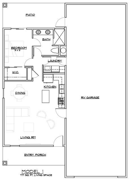 Arizona RV Home Model 1 | Small house plans | Pinterest | Rv ...